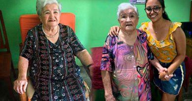Bisabuela'Mamino'de 94  años supera al covid-19