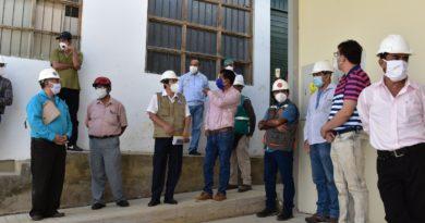 Sociedad Civil comprueba avances en obra del Hospital de la Banda de Shilcayo