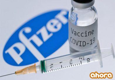 Vacunas Pfizer contra covid-19 suministrarán a partir del lunes