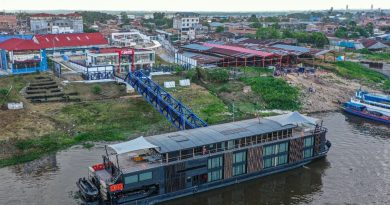Aperturan nuevo terminal fluvial de pasajeros Iquitos