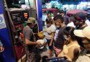 Motocarristas intentaron incendiar grifo Millenium