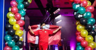 Peruano es 1°campeón mundial de globo